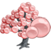 Giant Pink Pearl Tree-icon