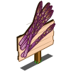 Purple Asparagus Mastery Sign-icon