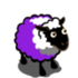 Real White Bluish Violet Ewe-icon