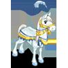 White Snow Fantasy Horse-icon