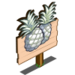 Albino Pineapple Mastery Sign-icon