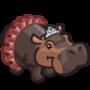 Ballerina Hippo-icon
