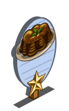 Gingerbread Cake 1 Star Mastery Sign-icon