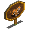 Bengal Tiger Mastery Sign-icon