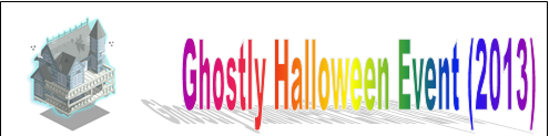 Ghostly Halloween Event (2013) Event Banner