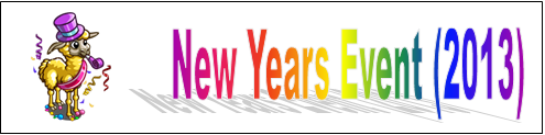New Years Event (2013) Event Banner