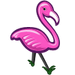 Hot Pink Flamingo-icon