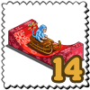 Sleigh Ride Monkey Stamp-icon