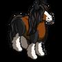 Brown Gypsy Horse-icon