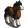 Brown Gypsy Horse-icon