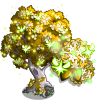 Golden Fairy Tree-icon