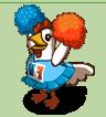 Jubelndes Huhn-icon