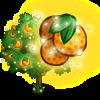 Magic Orange Tree-icon