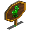 Alien Unicorn Foal Mastery Sign-icon