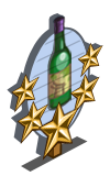 Dry Sake 5 Star Mastery Sign-icon
