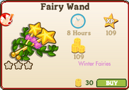 Fairy Wand Market Info Glitch