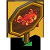 Lava Fish Mastery Sign-icon