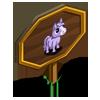 Purple Mini Foal Mastery Sign-icon