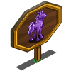 Amethyst Horse Mastery Sign-icon