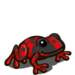 Red Dart Frog-icon