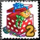 Surprise Gift Kitten Stamp-icon