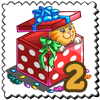 Surprise Gift Kitten Stamp-icon