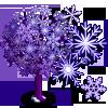 Big Snowflake II Tree-icon