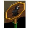 Black Mini Unicorn Foal Mastery Sign-icon