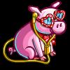 Music Lover Piggy-icon