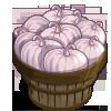 Pearl Pumpkin Bushel-icon