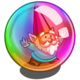 Rainbow Bubble Gnome-icon