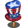 USA Tophat Tree-icon