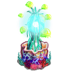 Azure Bloom Lamp-icon