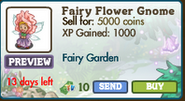 Fairy Flower Gnome Market Info (August 2012)