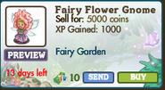 Fairy Flower Gnome Market Info (August 2012)