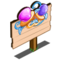 Pacifiers Mastery Sign-icon