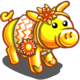 Flower Tiara Pig-icon