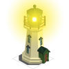Green Lighthouse-icon