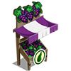 Organic Grapes Stall-icon