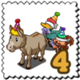 Party Game Stamp-icon