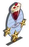 Red Currant Trifle 3 Star Mastery Sign-icon
