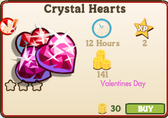 Crystal Hearts Market Info
