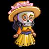 Day of Dead Gnomette-icon