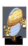 Potato and Onion Bread 2 Star Mastery Sign-icon