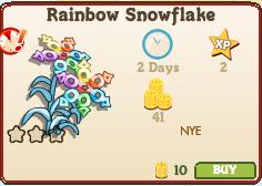 Rainbow Snowflake Market Info