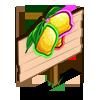 Neon Lemons Mastery Sign-icon