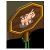 Ossabaw Pig Mastery Sign-icon