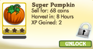 Super Pumpkin Locked
