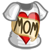 I Love Mom Shirt Costume-icon