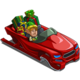 Sleigh Car-icon